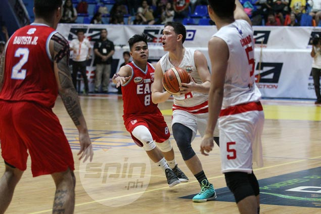 San Beda regains shooting touch as streaking Red Lions send EAC Generals on brink of elimination