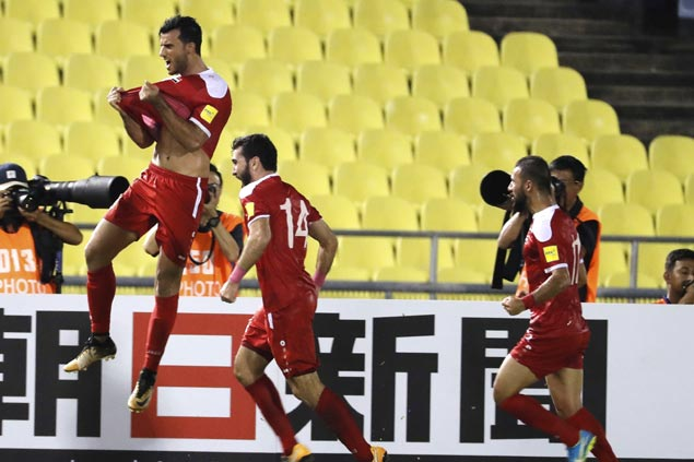 Syria keeps inspiring run to World Cup berth alive with draw against Australia