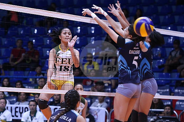 FEU Lady Tamaraws win five-set thriller to force semifinal decider with Adamson Lady Falcons