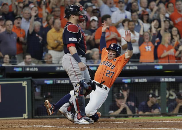 ALDS sweep looms as Astros continue to dominate Red Sox
