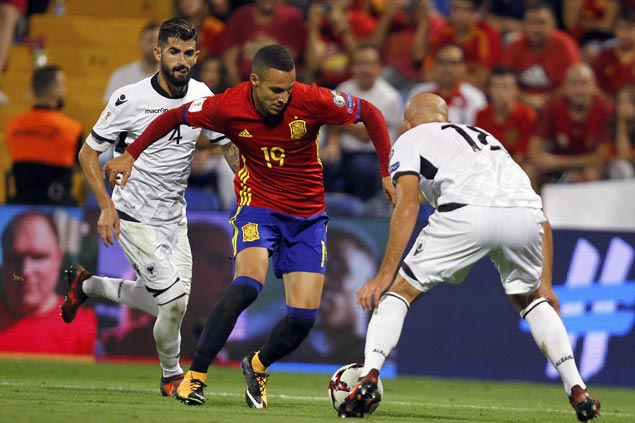 Spain scores thrice in first half to beat Albania and secure World Cup spot