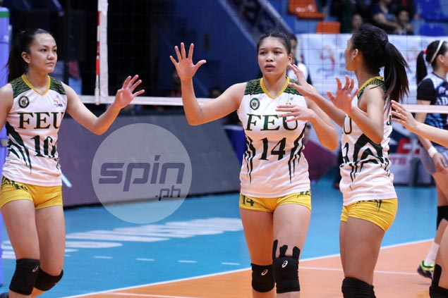 Czarina Carandang grateful for former FEU star Remy Palma's support as Lady Tams battled for PVL survival