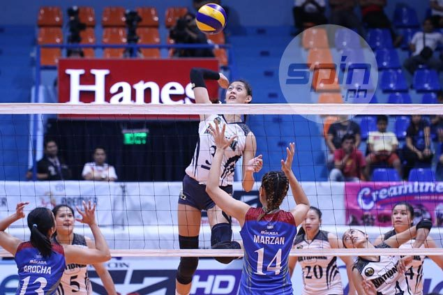 NU weathers feisty Arellano storm to sweep way back to PVL Collegiate Conference finals