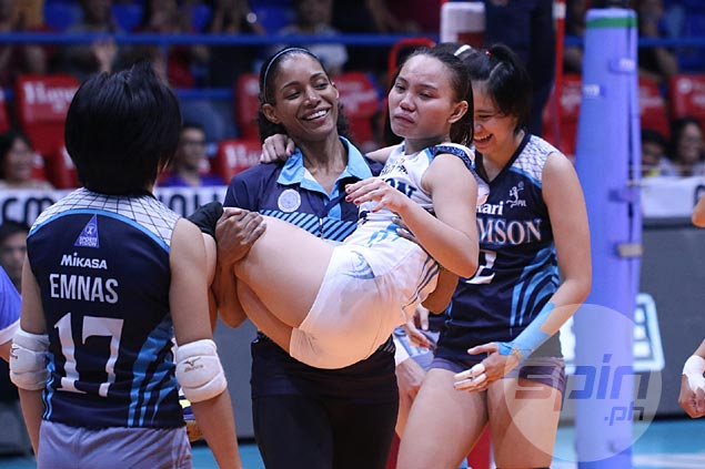 Adamson coach allays major injury fears as Jellie Tempiatura ends up with light ankle sprain