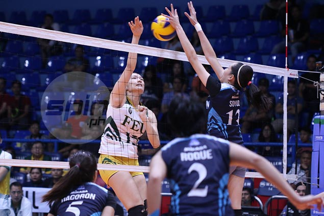 FEU Lady Tamaraws, Adamson Lady Falcons battle one last time as NU Lady Bulldogs await winner