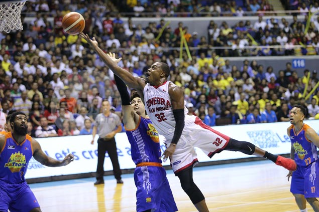 Ginebra dispatches all-Filipino TNT to set up finals rematch vs Meralco