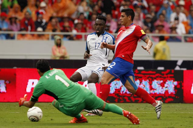 Costa Rica salvages home draw with Honduras to clinch World Cup berth