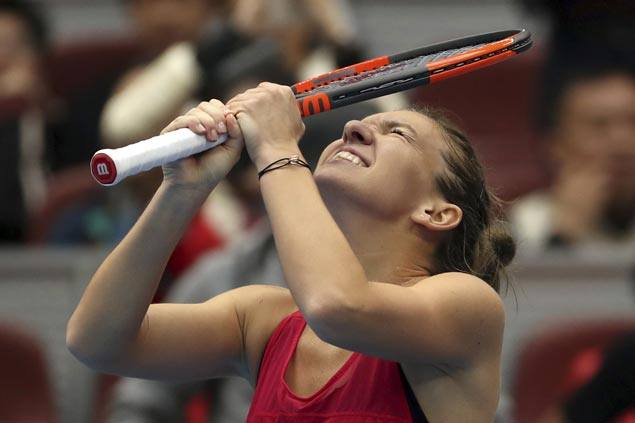 Simona Halep secures No. 1 spot after reaching China Open final