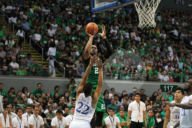 La Salle main man Ben Mbala the runaway MVP leader despite missing first two games of elims