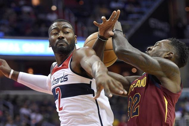 Wizards score third straight victory as Cavs rest regulars and remain winless in three