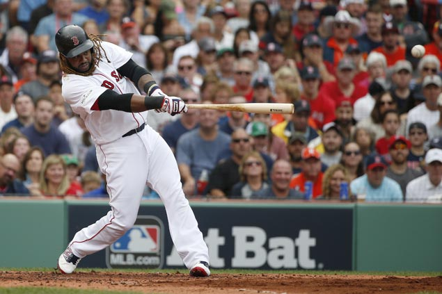 Hanley Ramirez takes charge as Red Sox avoid elimination with big win over Astros