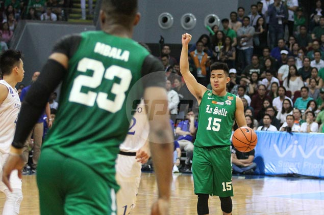 Kib Montalbo determined to bounce back after tough outing for La Salle