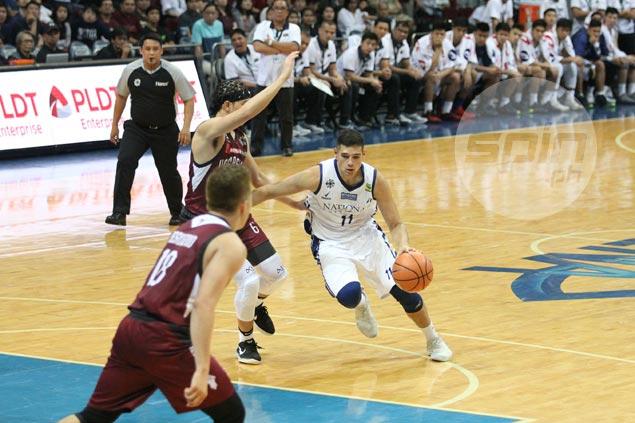 Slumping Matt Salem repays NU coach's trust with breakout game vs UP Maroons