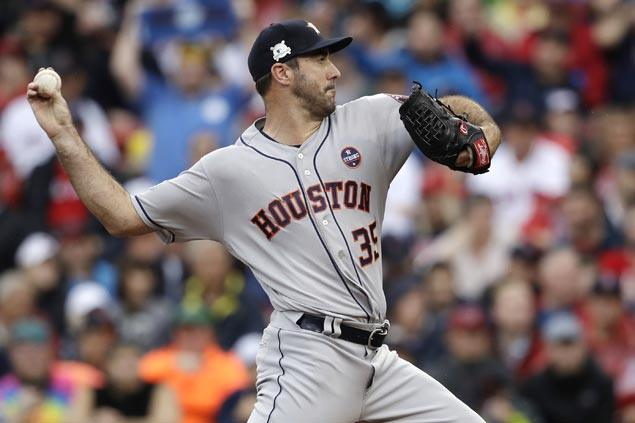 Justin Verlander beats Chris Sale in duel of aces-turned-relievers as Astros down BoSox to gain ALCS