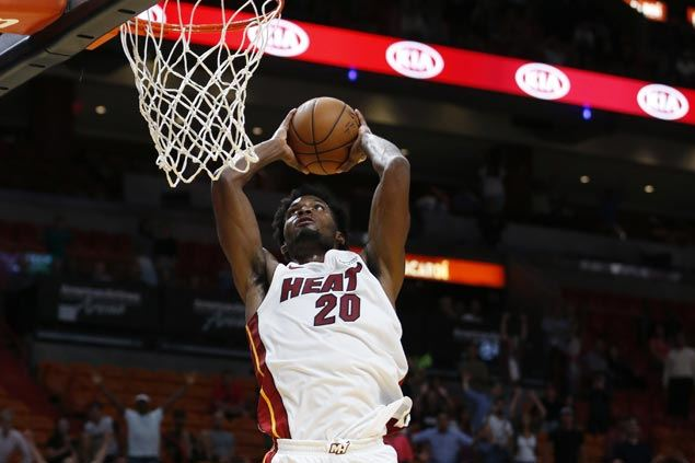 Heat rally to beat Hornets as Kemba Walker, Jeremy Lamb leave game early