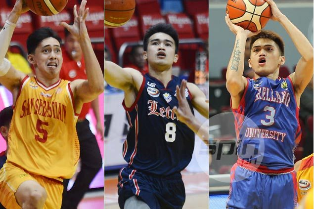 Letran enjoys inside track over SSC, Arellano in race for last NCAA Final Four spot