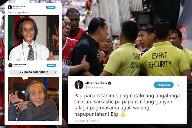 Nash Racela refuses to be drawn into word war after Twitter 'attack' from Alfrancis Chua