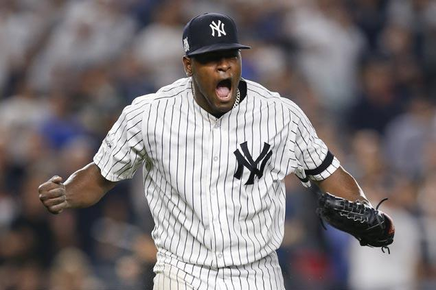Luis Severino, Aaron Judge finally find mark as Yankees blast Indians to force ALDS decider