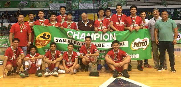 LSGH Greenies, San Beda Red Cubs rule NCR leg of SBP-Passerelle Twin Tournament