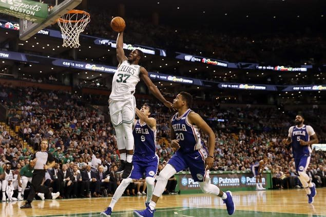 Celtics rest Irving, Hayward, Horford but prove strong enough to blow past winless Sixers