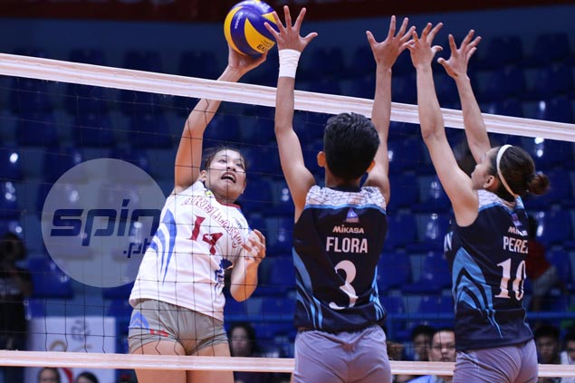 Arellano Lady Chiefs close in on third place with straight-sets win over Adamson Lady Falcons
