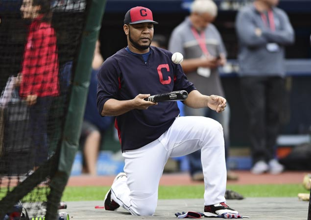 Indians slugger Edwin Encarnacion expected to play in ALDS decider vs Yankees after hurting ankle in Game Two