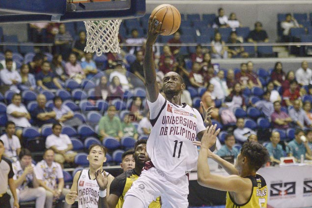 UP Maroons get back on track but not without scare from winless UST Tigers