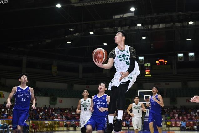 University of the Visayas closes in on Cesafi juniors title after edging Sacred Heart