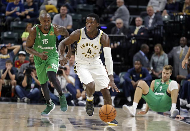 Victor Oladipo early offensive surge powers Pacers over Israel's Maccabi Haifa