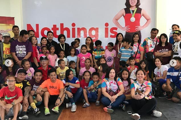 Dream come true for Hidilyn Diaz as Olympic silver medalist opens weightlifting gym in Zamboanga