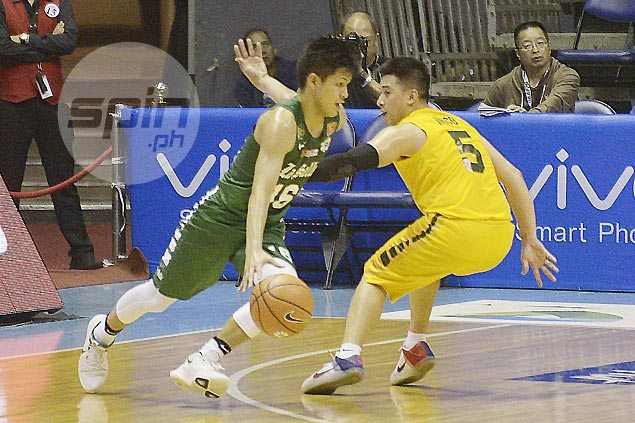 Jollo Go finally finds footing at La Salle as his clutch baskets keep FEU at bay