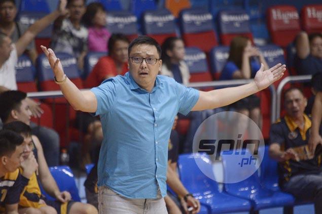 JRU coach Vergel Meneses insists Lyceum 'beatable, pero kailangan i-outwork mo sila'