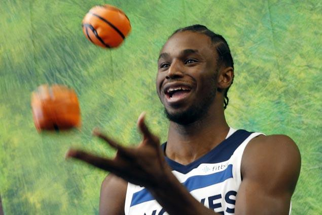 Andrew Wiggins finally signs contract extension with Wolves, gets nearly $150 million for five years
