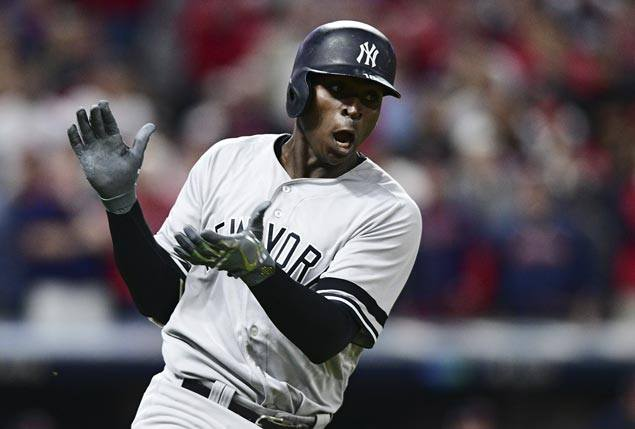 Didi Gregorius homers twice off Corey Kluber as Yankees complete comeback against Indians to gain ALCS