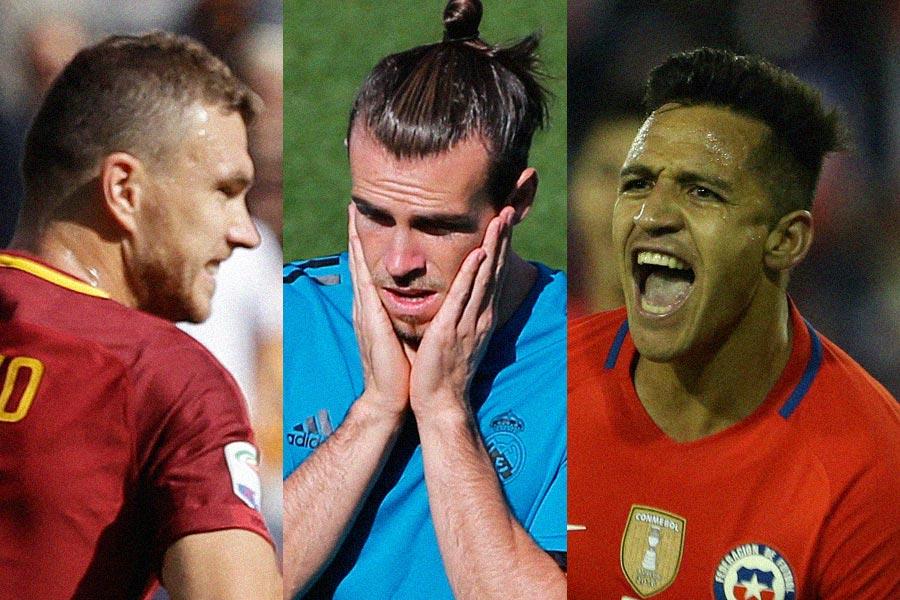 As Messi and Ronaldo get through, Bale, Dzeko and Sanchez headline stars on World Cup sidelines