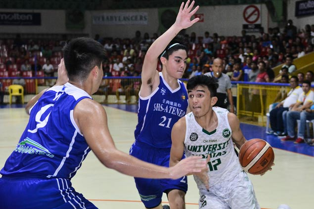 UV Baby Lancers look to complete finals sweep of Magis Eagles