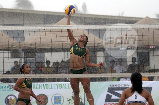 FEU dispatches UP to seal UAAP beach volleyball finals rematch with UST