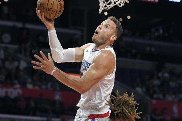 Blake Griffin leads Clippers balanced attack in preseason romp over Kings