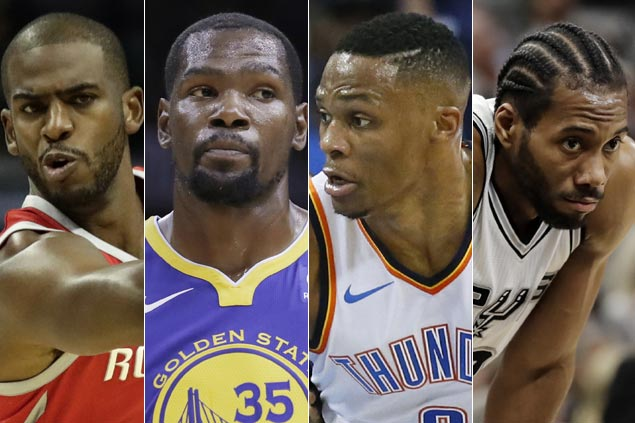 Thunder, Rockets, Spurs emerge as top contenders to beat Warriors in stacked West