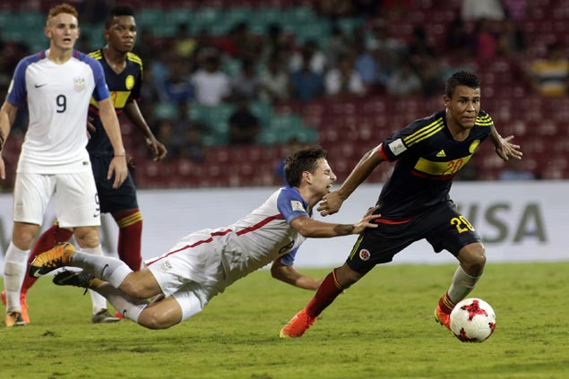 Colombia downs US as both teams advance to round-of-16 in Under-17 World Cup