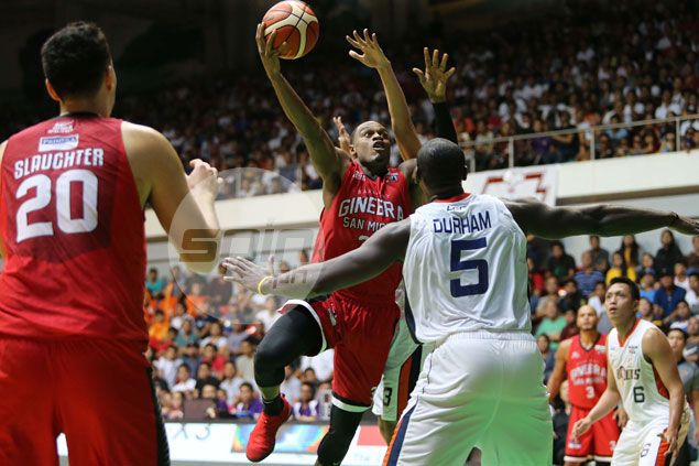 Brownlee says Slaughter makes a world of difference in Ginebra-Meralco rematch