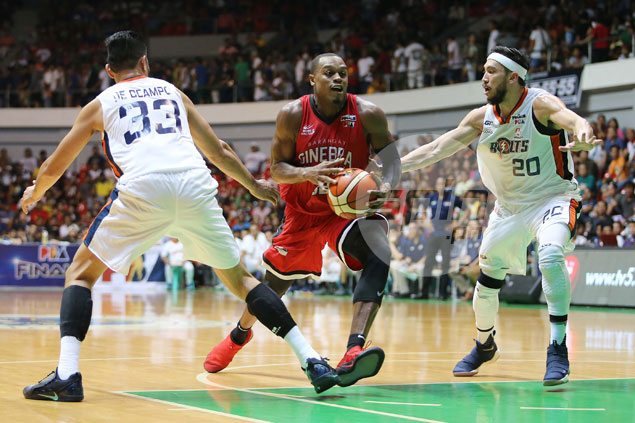 Red-hot Ginebra wallops Meralco in Lucena game for perfect start to PBA repeat bid