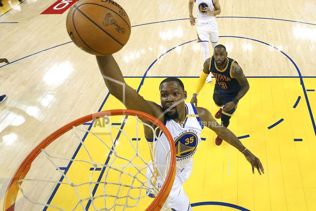 Best yet to come as Kevin Durant hungry for more in second season with Warriors