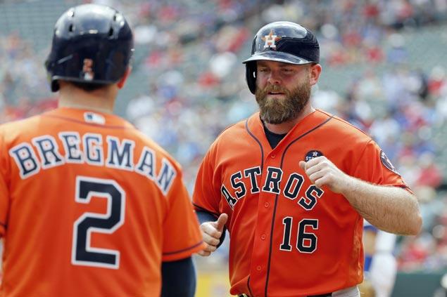 Astros vets McCann, Beltran not surprised with former team Yankees' rise ahead of ALCS duel