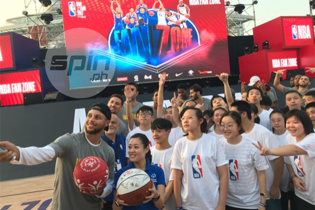 Warriors, Timberwolves leave giant imprint in China as NBA expands reach