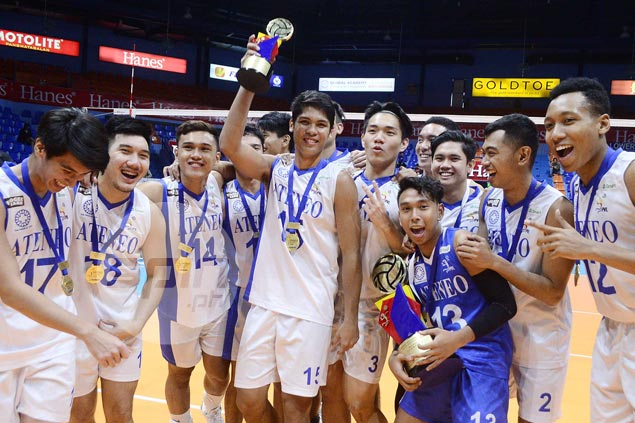 Ateneo star Marck Espejo claims third MVP award in commercial leagues