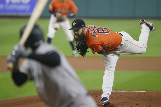 Astros draw first blood in ALCS as Dallas Keuchel shuts down Yankees