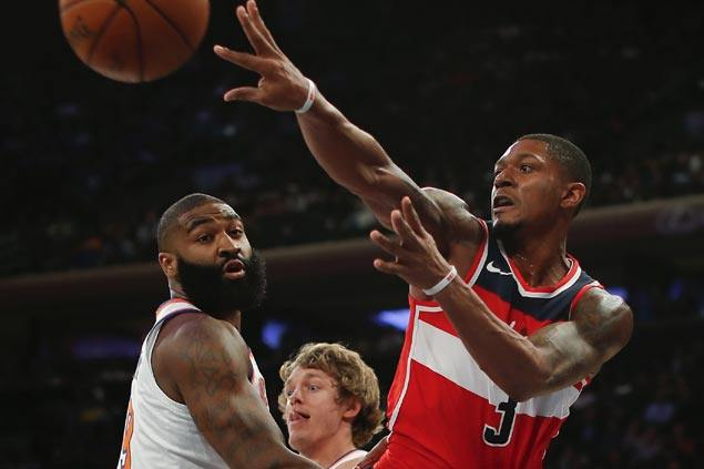 Bradley Beal takes charge as Wizards send Knicks to a winless preseason campaign