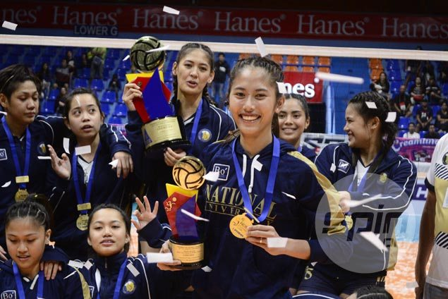 Jasmine Nabor turns emotional with Finals MVP nod but quick to deflect credit to NU teammates