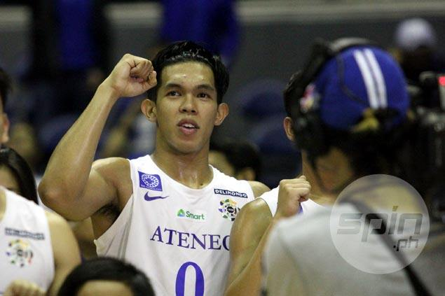 Thirdy Ravena not slowing down in leading Ateneo's unbeaten run: 'You can't be complacent'